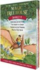 Magic Tree House Boxed Set, Books 1-4: Dinosaurs Before Dark, The Knight at Dawn, Mummies in the Morning, and Pirates Past Noon Paperback – Box set, May 29, 2001